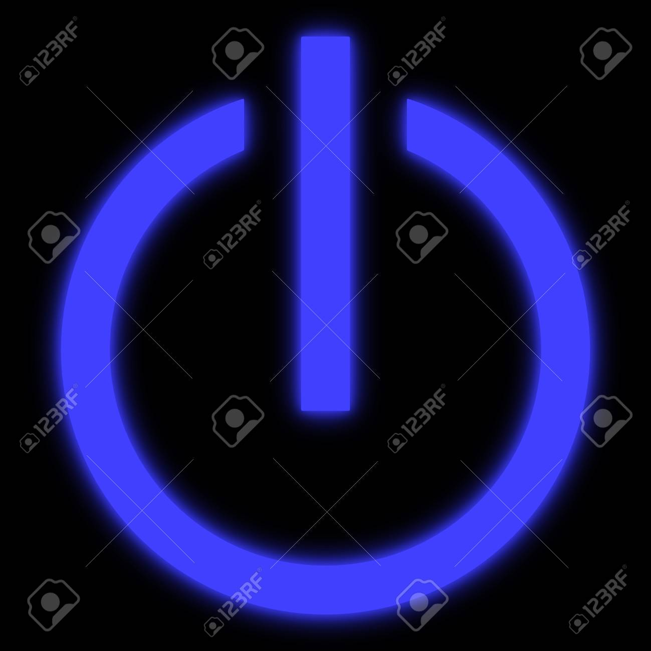 Symbol of an on off switch of electrical equipment stock photo symbol of an on off switch of electrical equipment stock photo 66012870 buycottarizona Choice Image