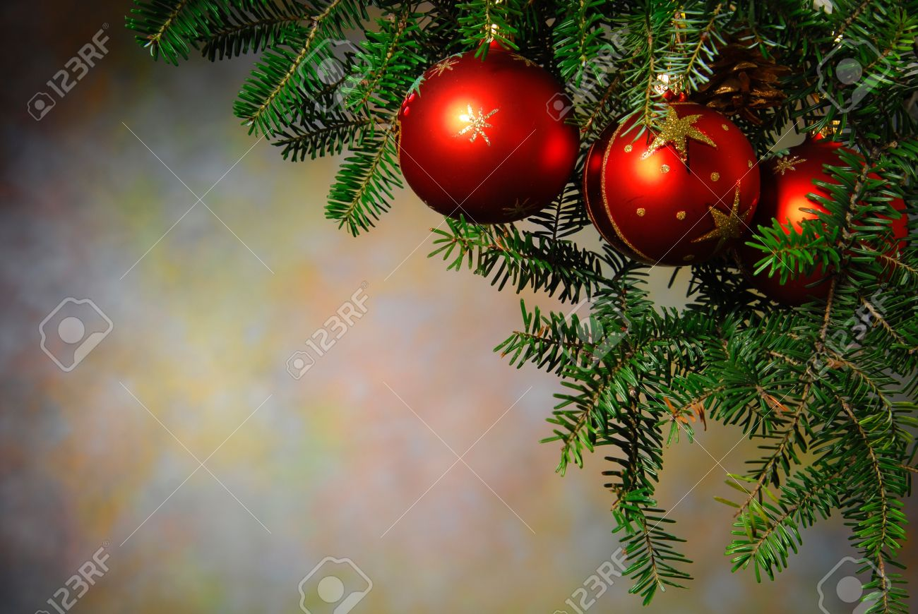 Christmas ornaments on the Christmas tree Stock Photo - 15826747