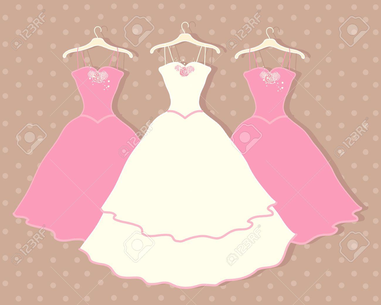 Niedlich Hochzeitskleid Kleiderbügel Mit Namen Zeitgenössisch ...
