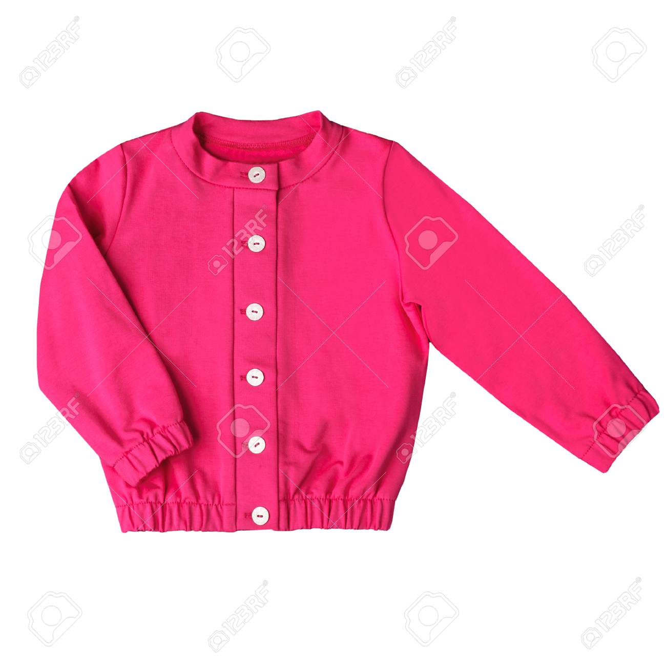 7bed4c63d75a Jacket For Children Of School Age Isolated On A White Background ...
