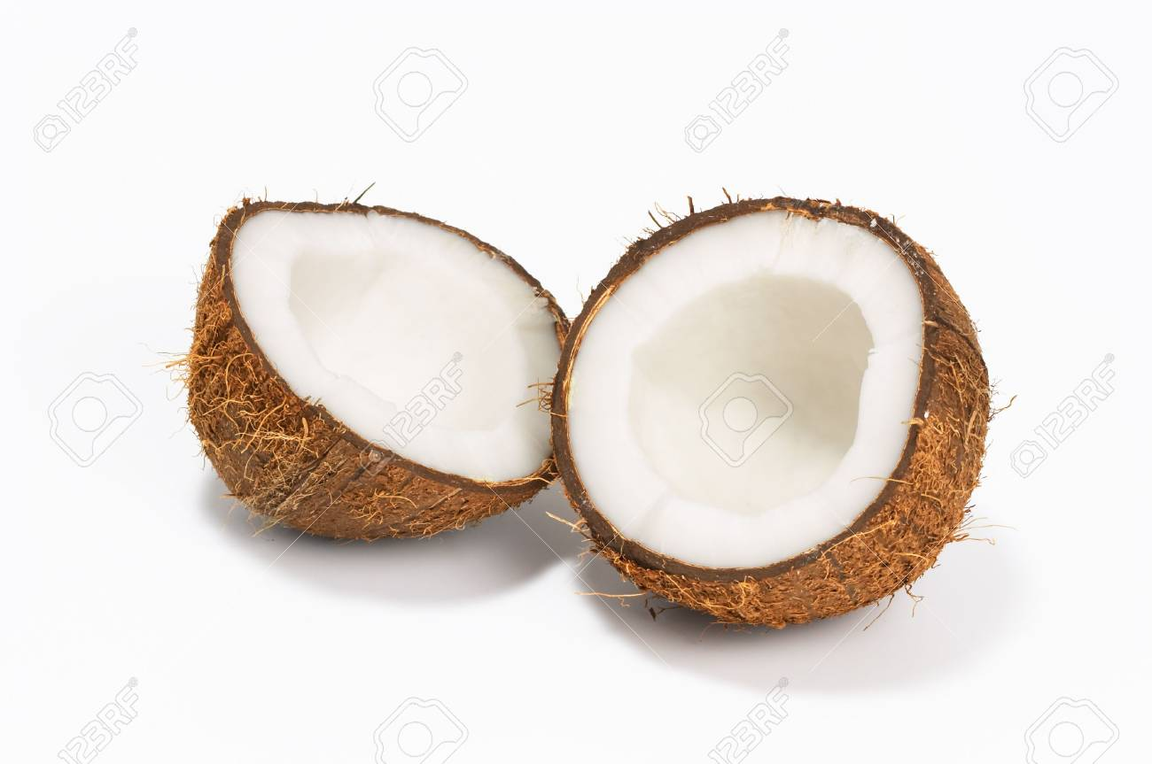 coconut on white background - 3018798