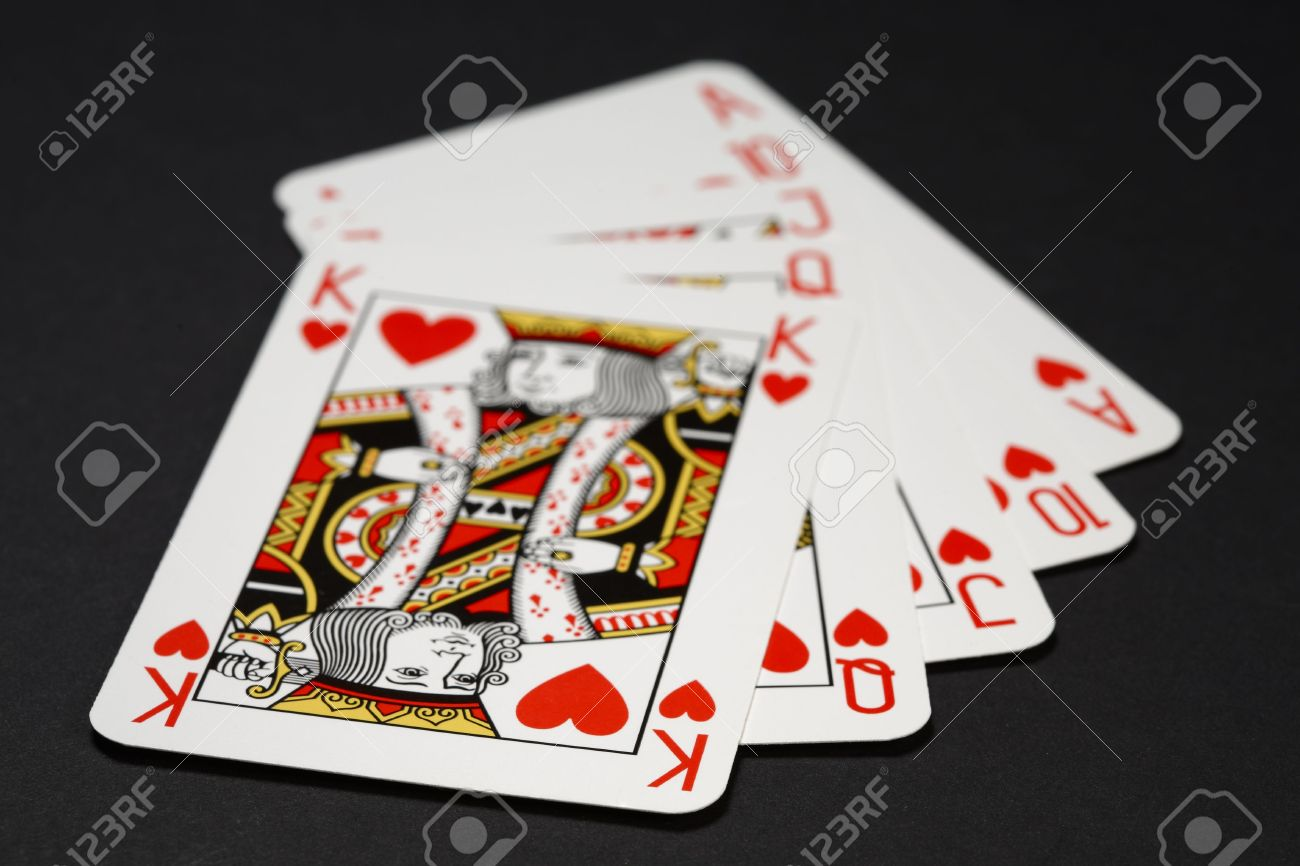 Poker Cards King Queen Cards King Queen Jack