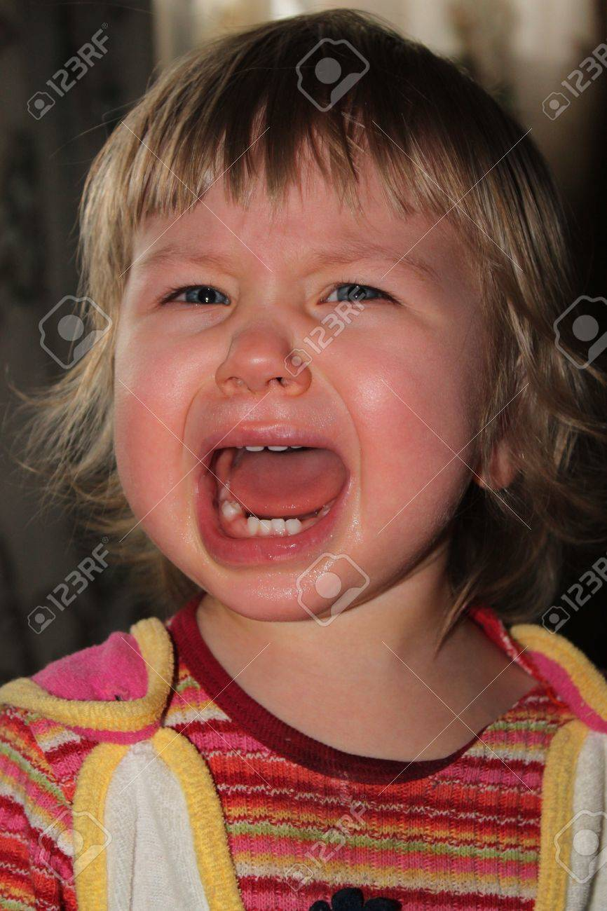 crying baby Stock Photo - 9541938