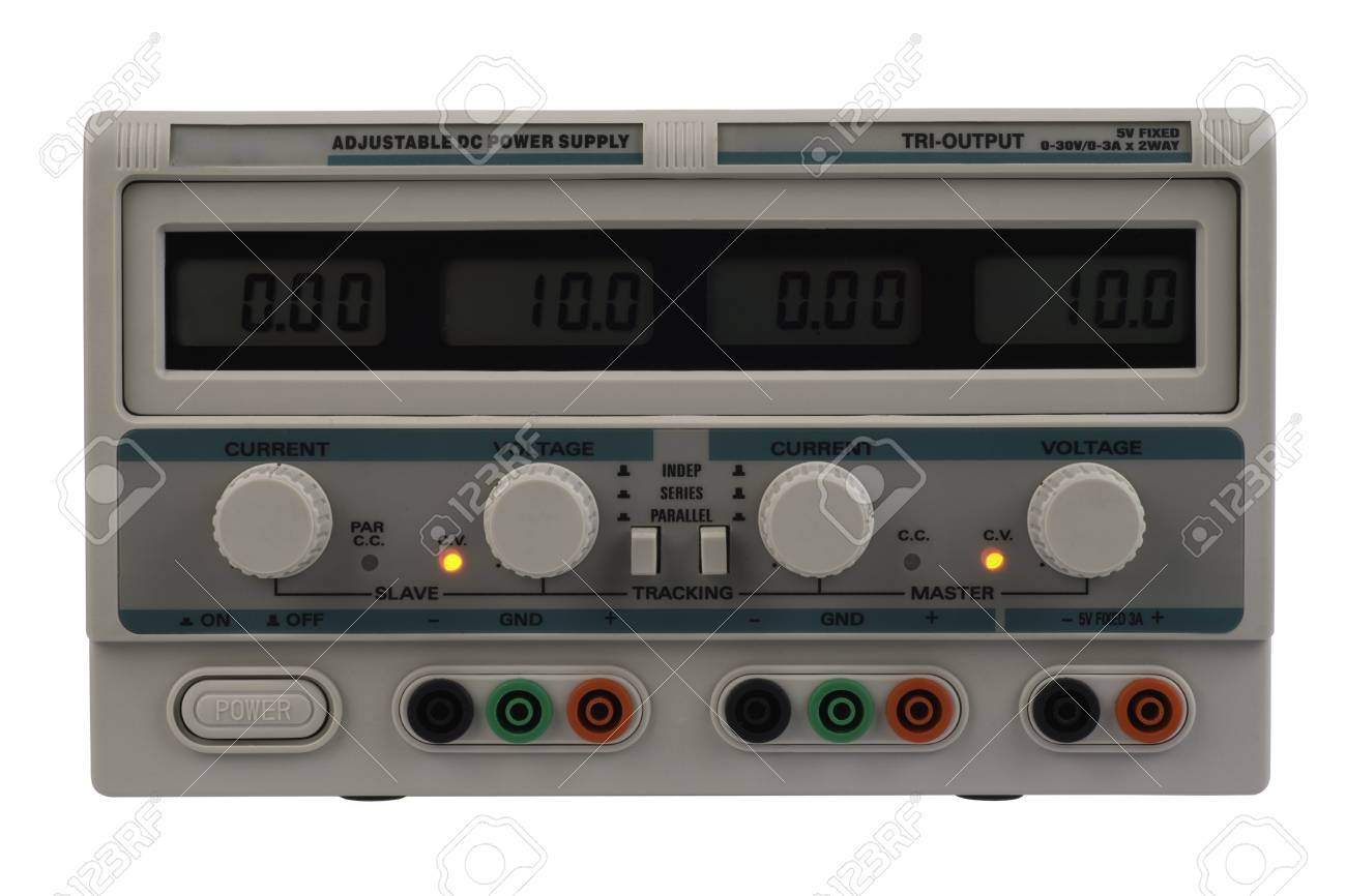 Regulated Dc Power Supply For Use In A Electronic Laboratory Stock Photo 10898880