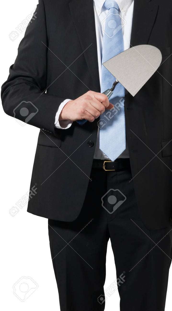 businessman ready to build some new business Stock Photo - 16692994