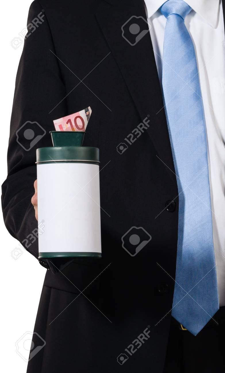 Employee demanding some money after doing his job Stock Photo - 16847667
