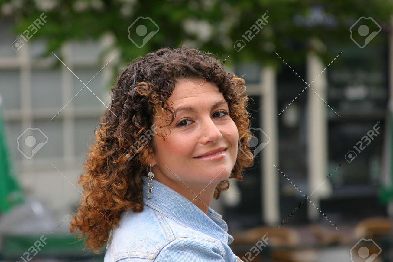 Jolie fille tunisienne  Banque d'images - 227878