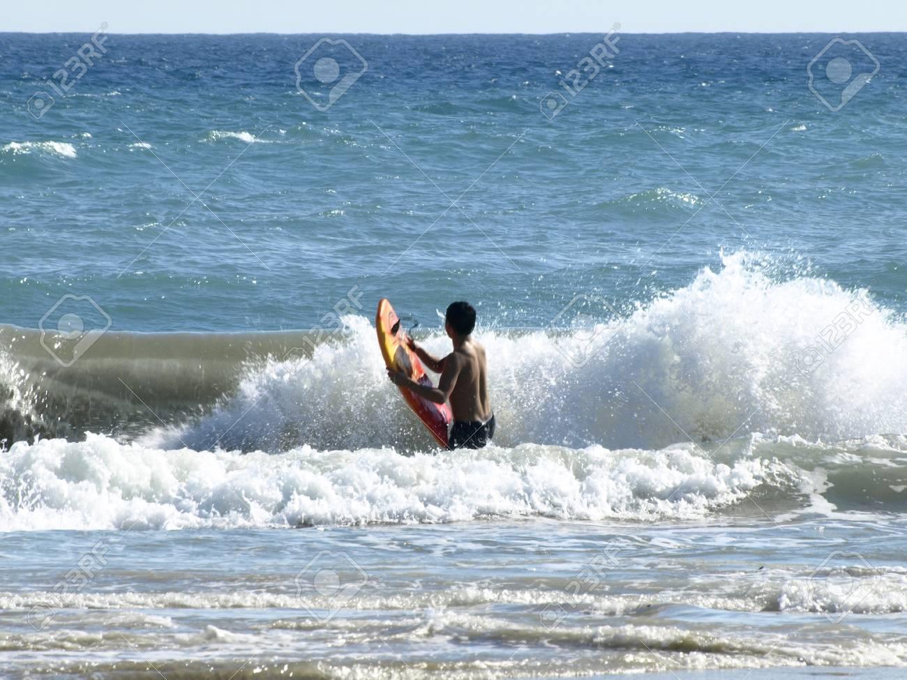Going Surf In The Mediterranean Sea