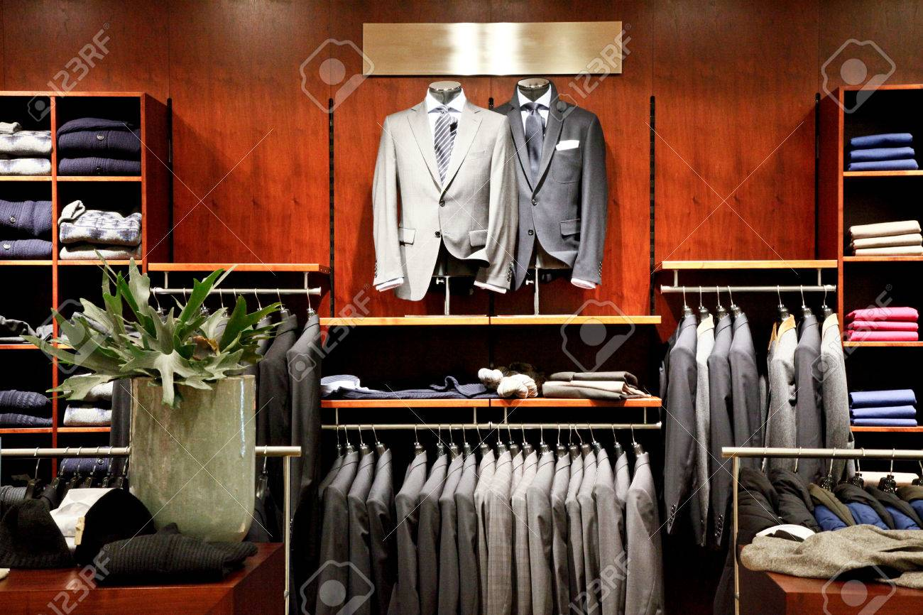 Men's Fashion Showroom: https://www.123rf.com