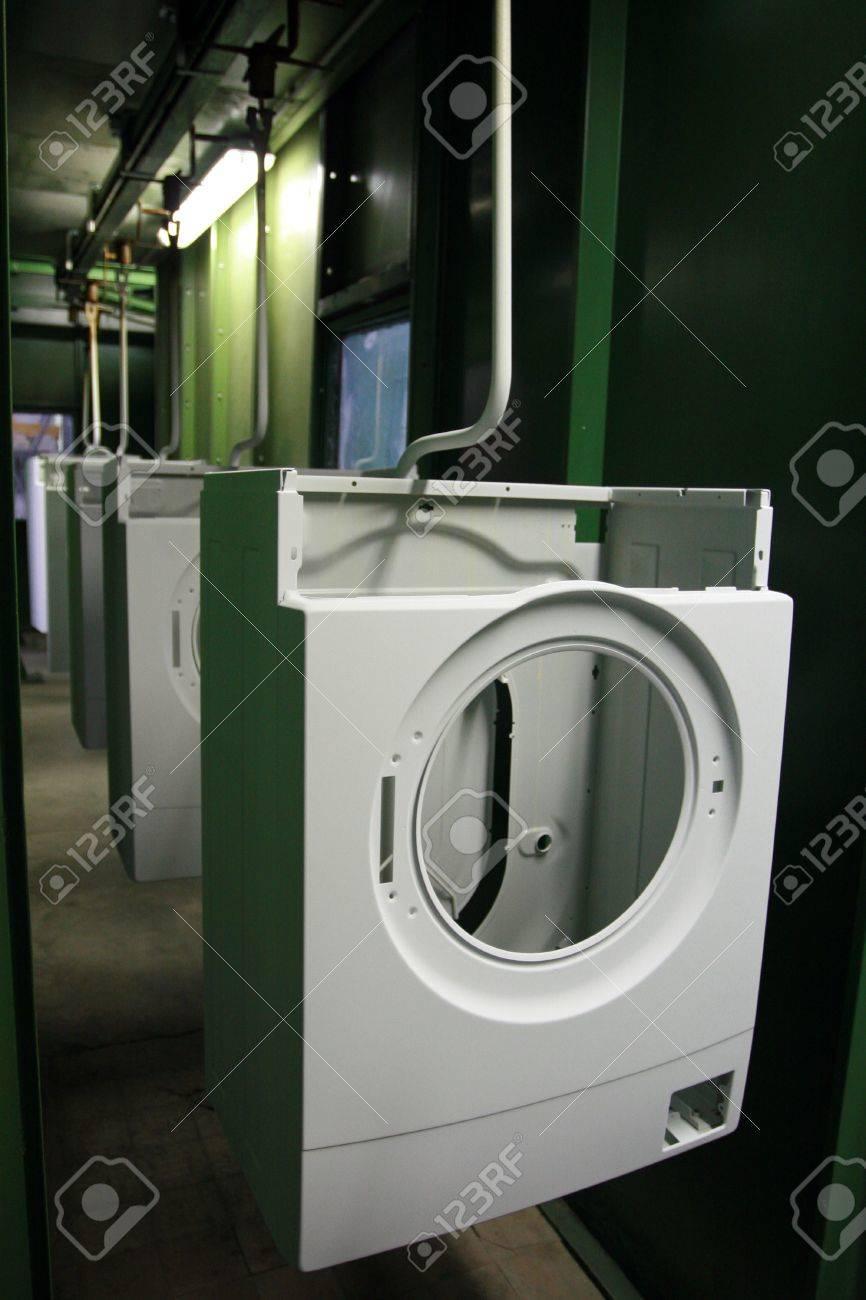 Production of washing machines Stock Photo - 14146745