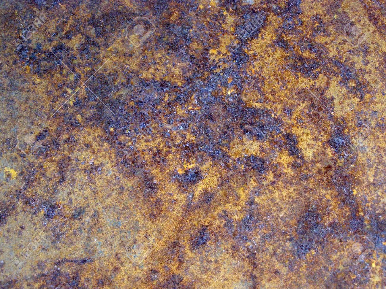 Rusting Steel Iron Rust Iron Metal Textured
