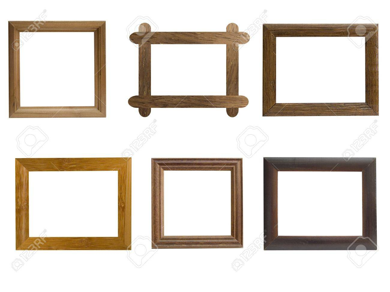 harmony kingdom picturesque collection 4 tile medium frame frames from natural wood on a white background - Natural Wood Frames