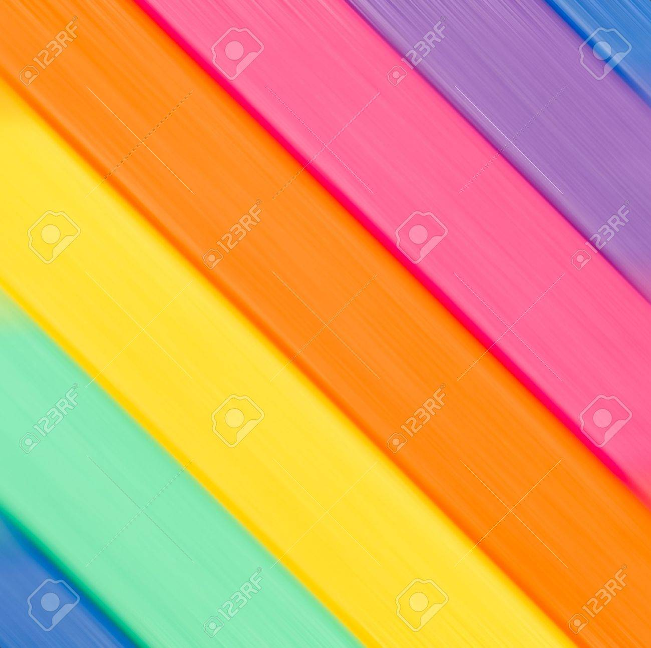 Diagonal lines of color of a rainbow background Stock Photo - 10920975