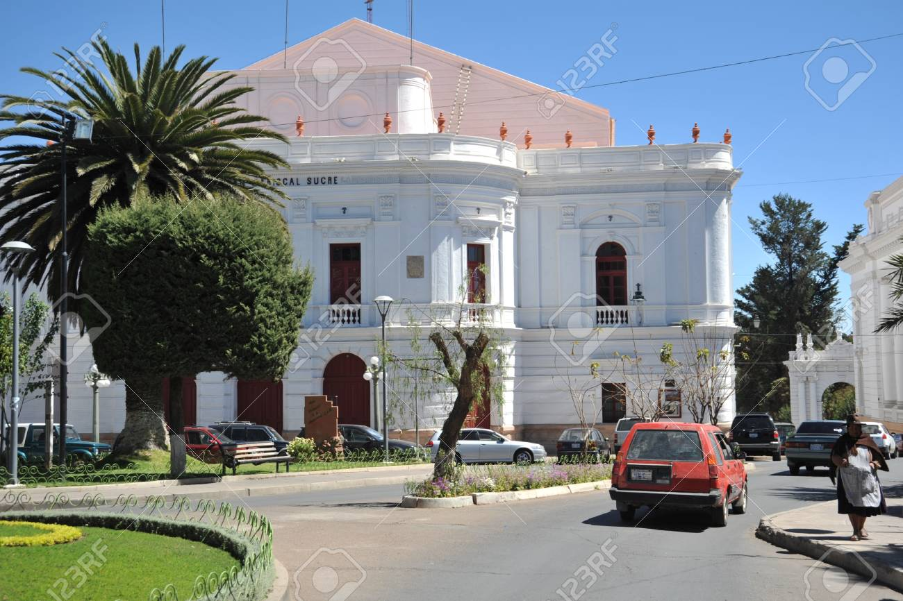 Sucre Is The Official Capital Of Bolivia View Of The City Stock Photo Picture And Royalty Free Image Image 28007845