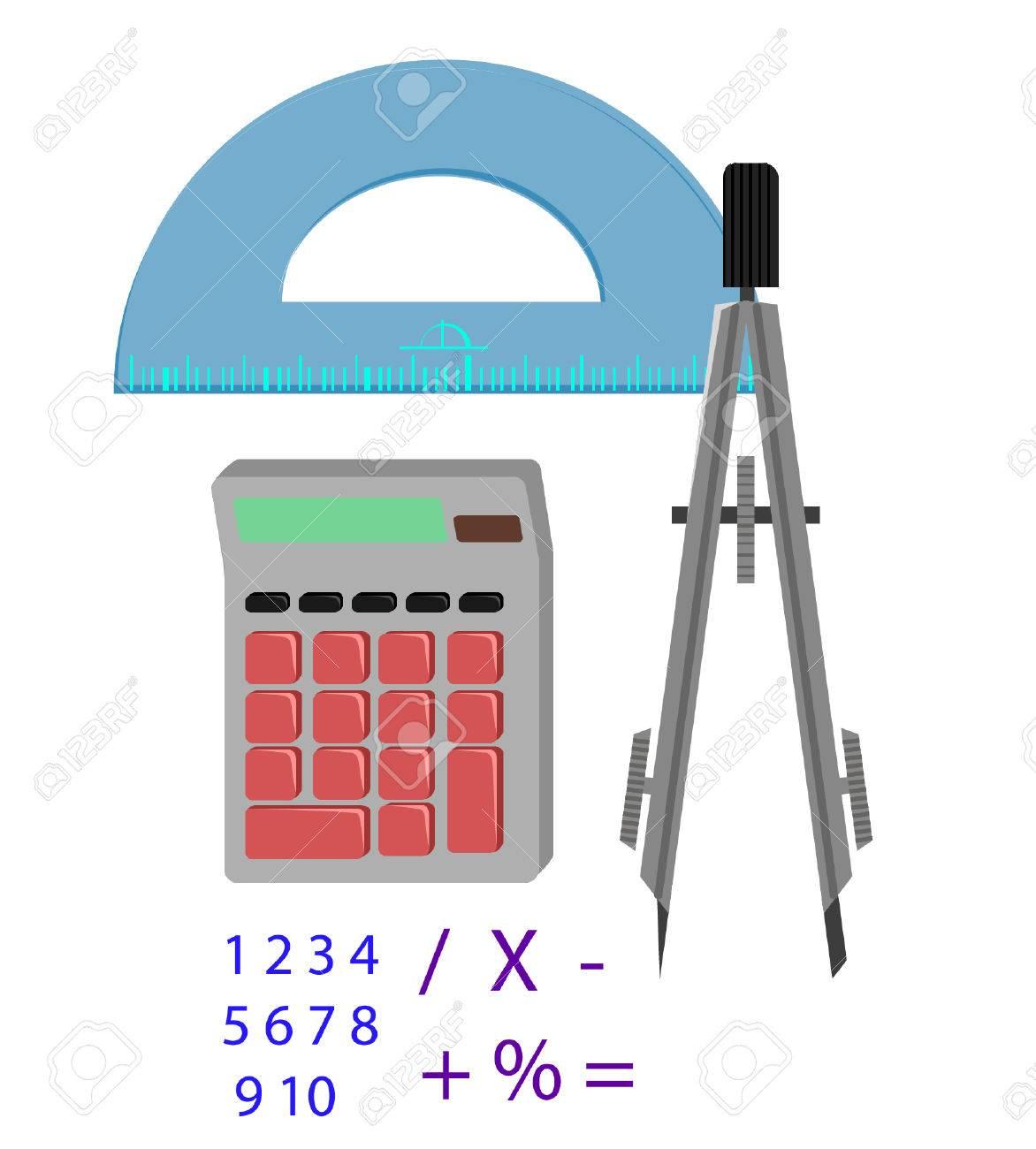 math tools royalty free cliparts vectors and stock illustration