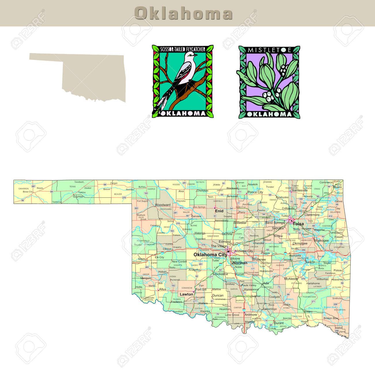 FileMap Of USA OKsvg Wikimedia Commons Oklahoma Geological Survey - Oklahoma counties road map usa