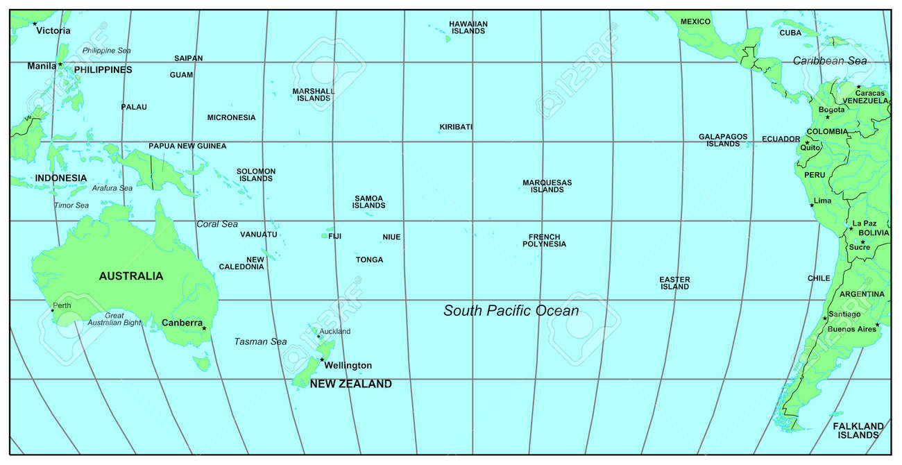 Sea maps series south pacific ocean stock photo picture and sea maps series south pacific ocean stock photo 1704497 sciox Choice Image
