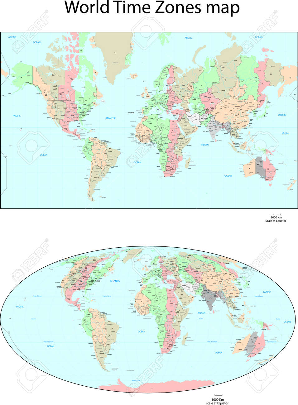 Google Us Timezone Map Seaports Map Grand Canyon Maps Google - Us map with equator