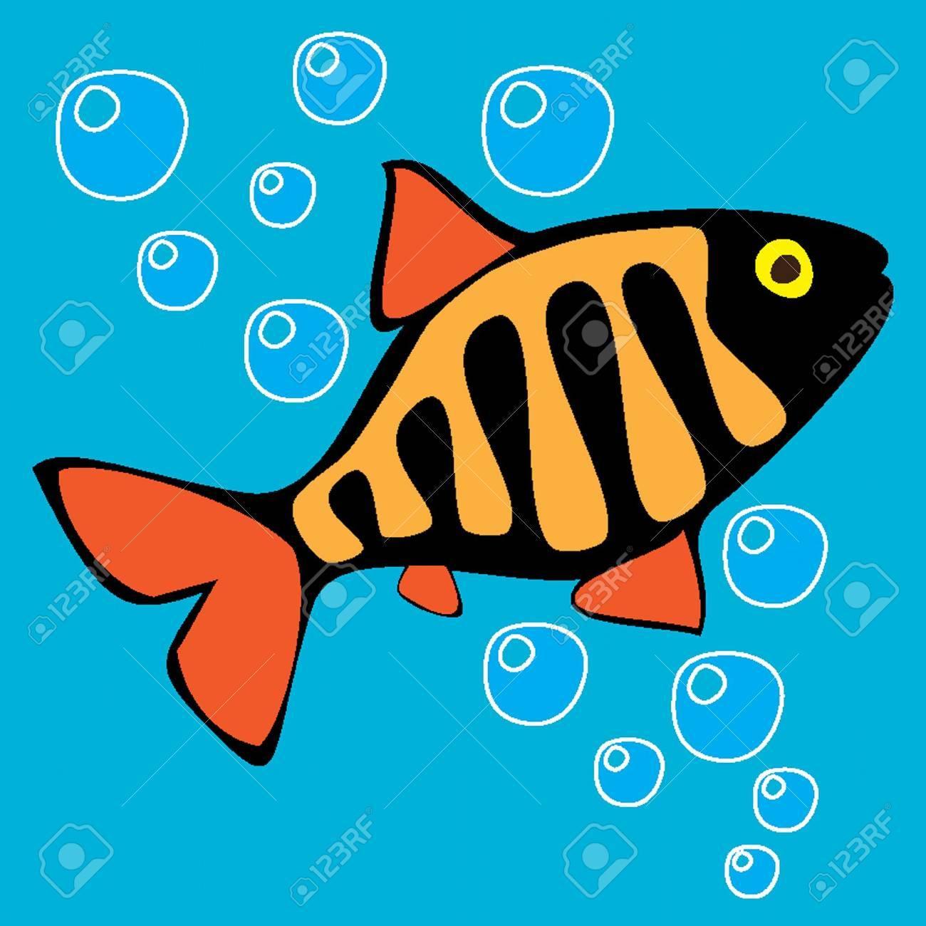 Beautiful colored small fish. Stock Photo - 6741899