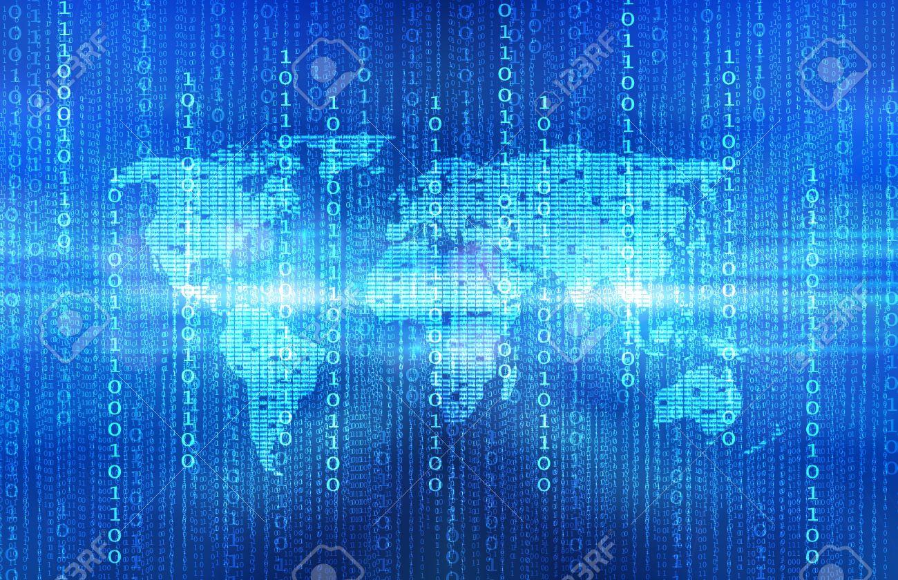 Background image code - Blue Source Code Background Stock Photo 12751727