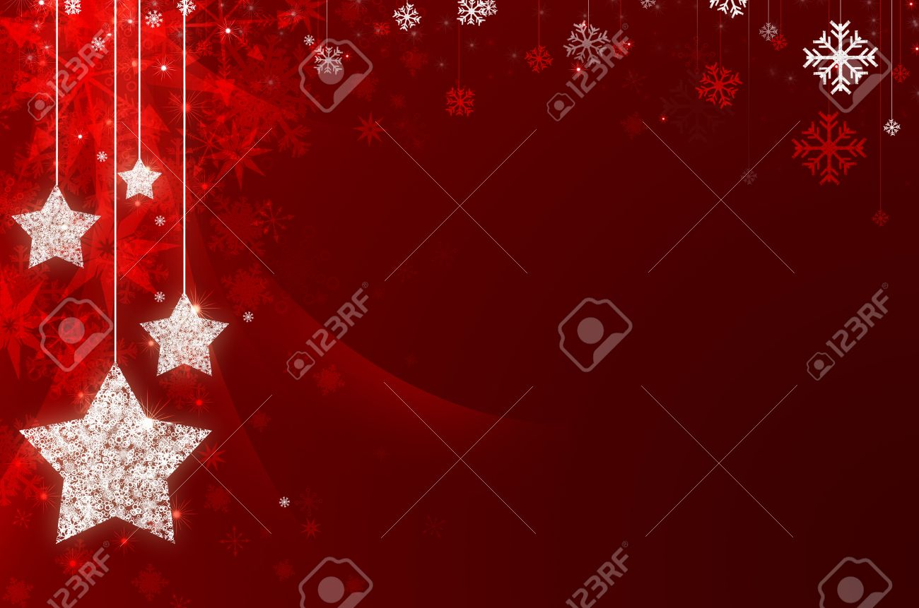 Christmas Red.Red Christmas New Year Background