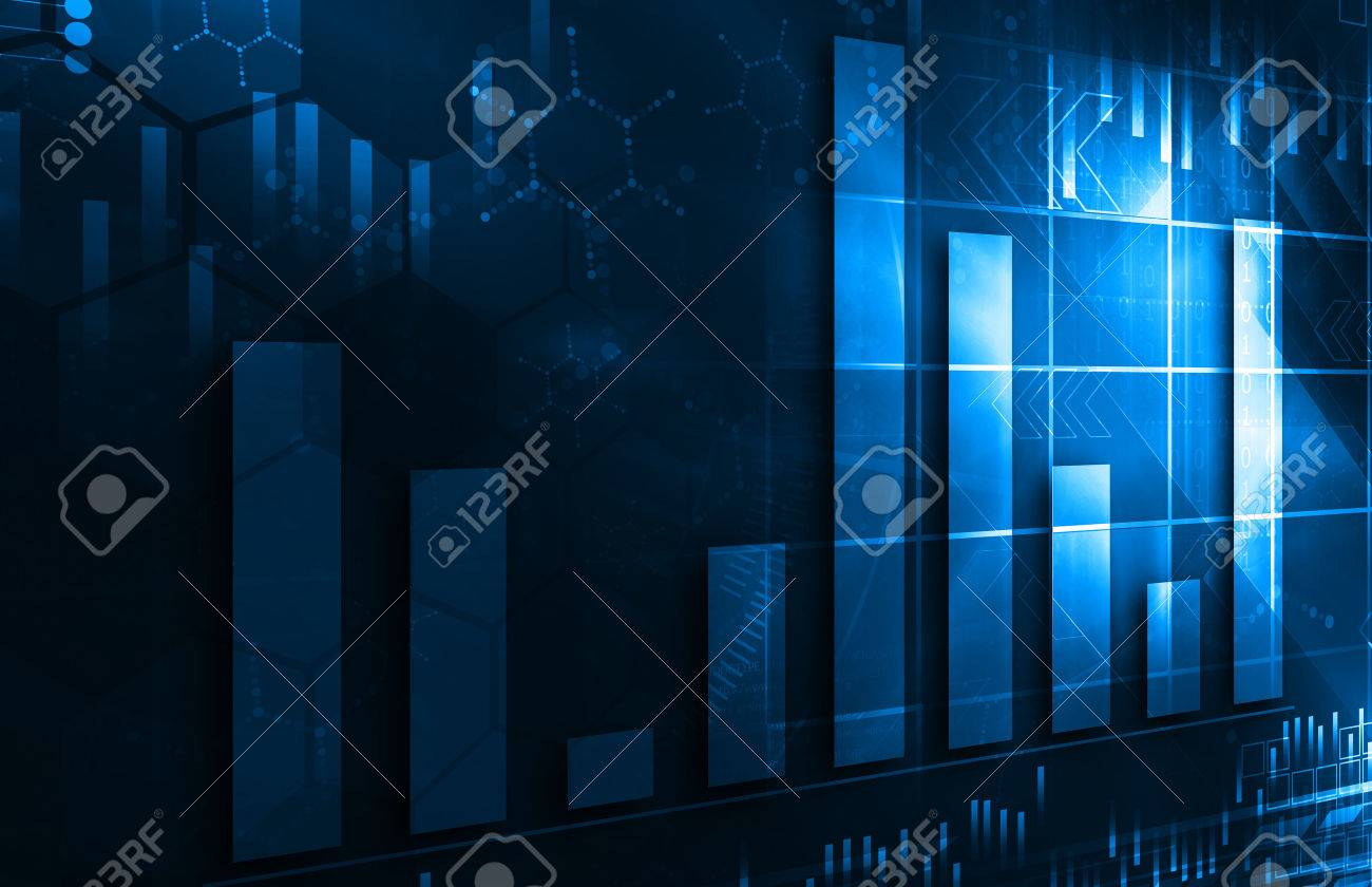 financial graph - 53724937