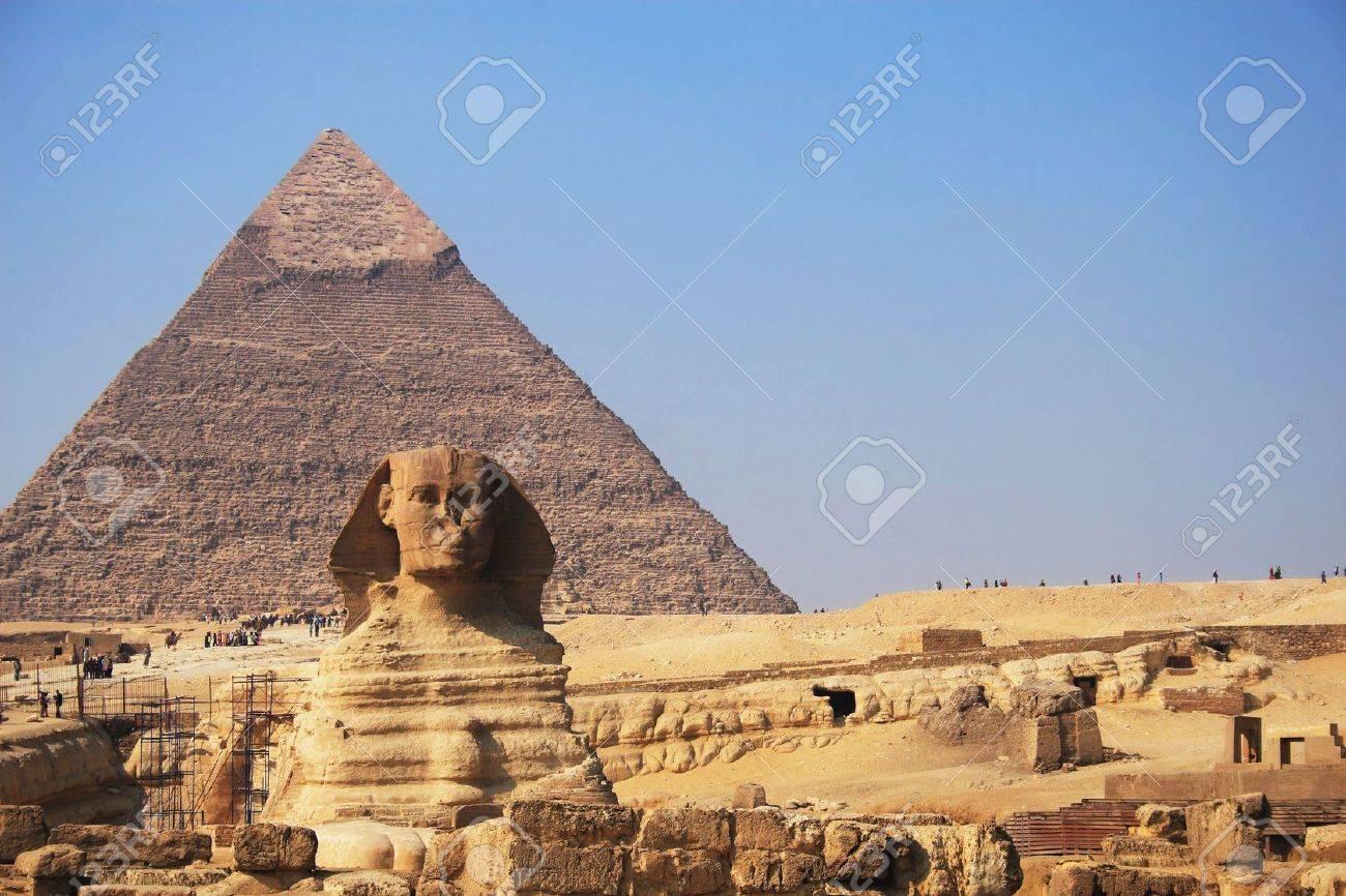 エジプト ギザの大スフィンクス...