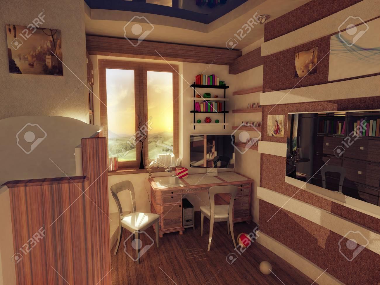 the interior of children s rooms Stock Photo - 15430215