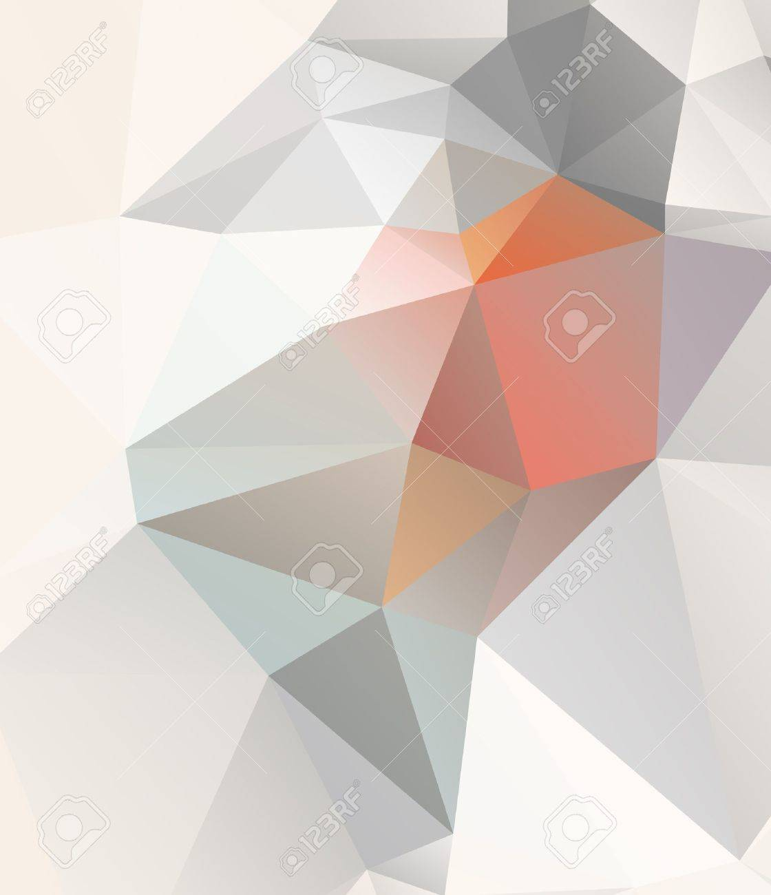 Vector geometric background with gradients lines, different colors Stock Vector - 18389105