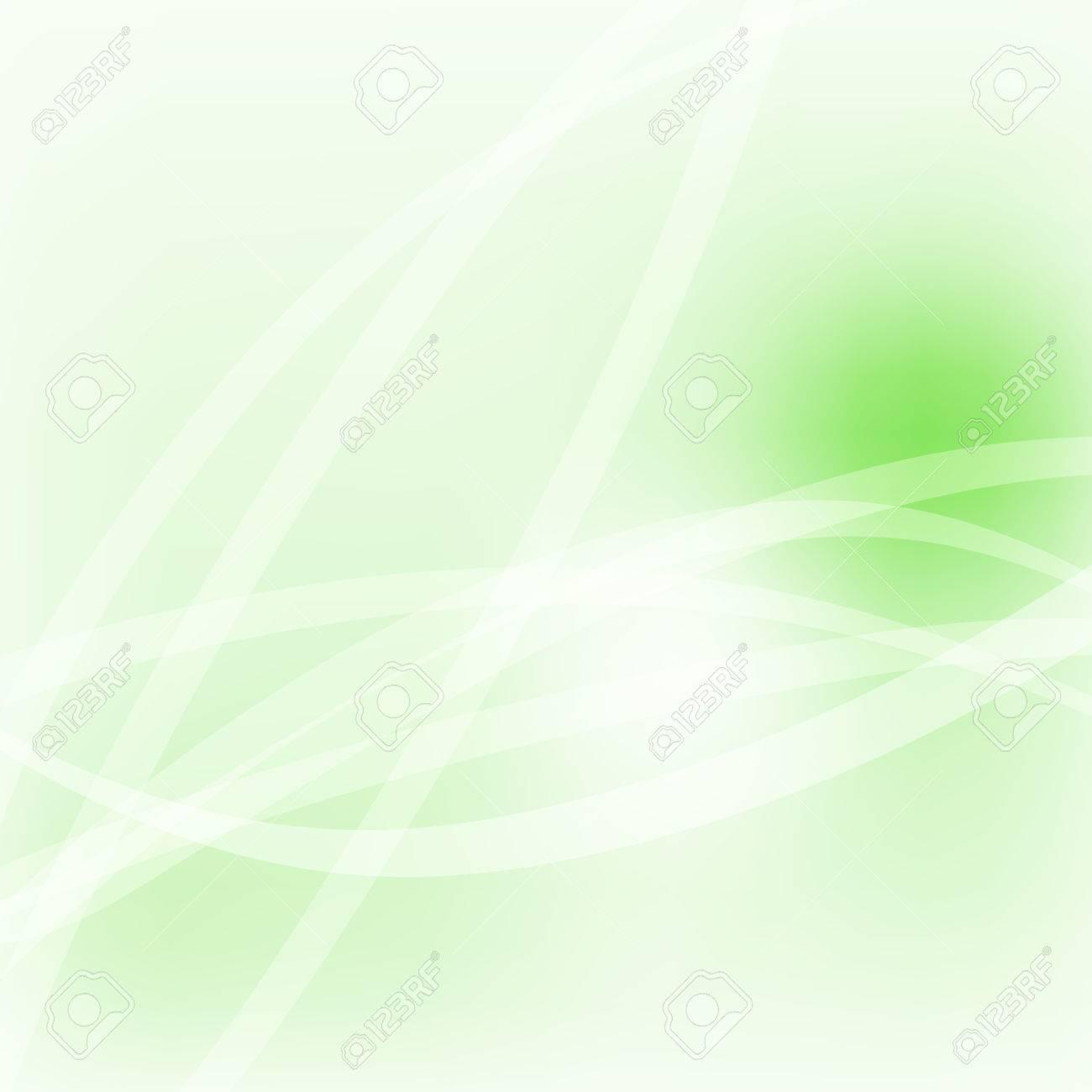 柔らかな光パステル ライン緑エコ空背景イラスト ロイヤリティフリー