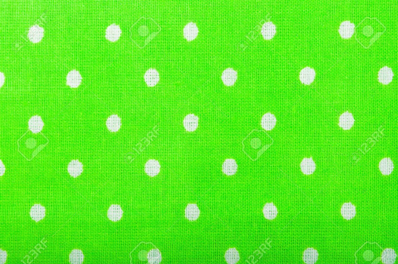 Green Cotton Fabric Texture