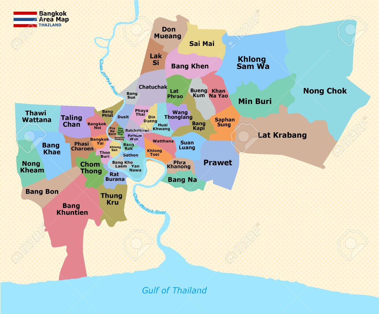 Map Of Bangkok – Maps Of Bangkok For Tourists