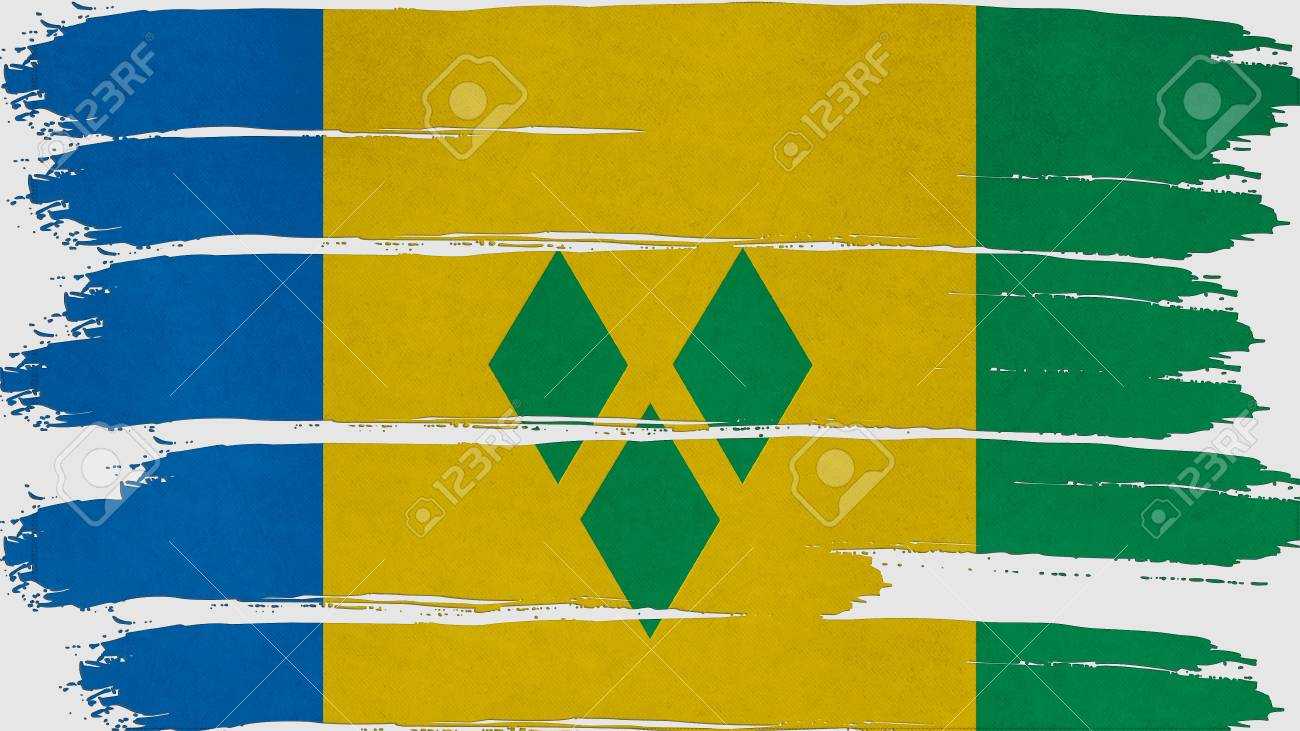 st vincent & the grenadines Flag tinted horizontal texture