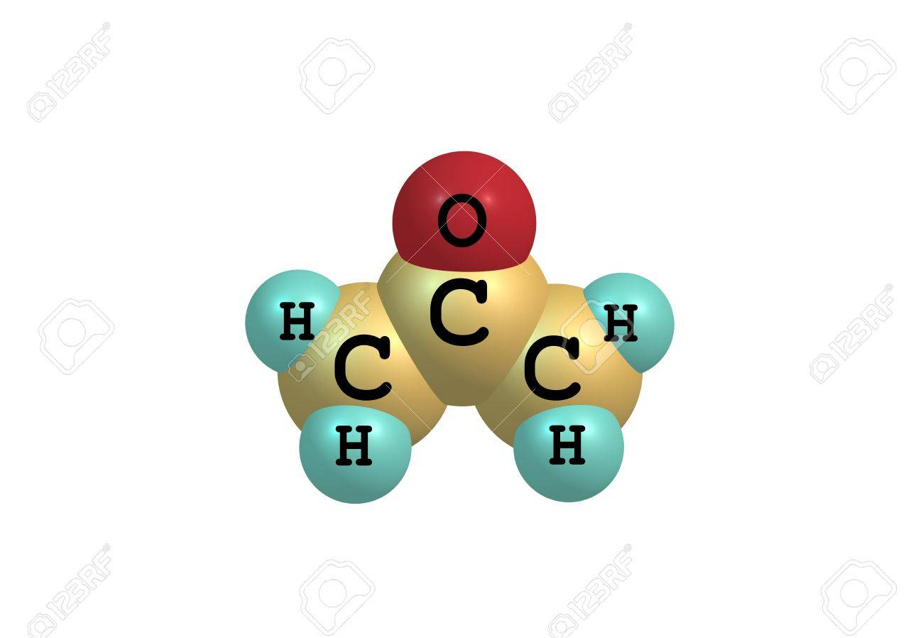 Acetone (propanone) Is The Organic Compound With The Formula ...