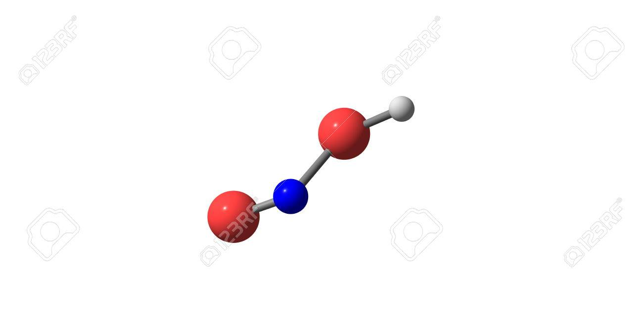 nitrous acid or hno2 is a weak and monobasic acid known only stock