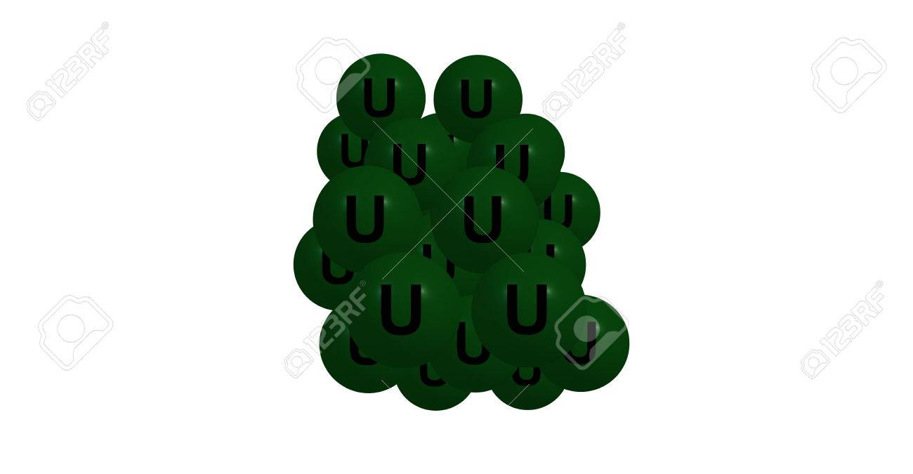Uranium is a chemical element with symbol u and atomic number illustration uranium is a chemical element with symbol u and atomic number 92 it is a silvery white metal in the actinide series of the periodic table urtaz Image collections