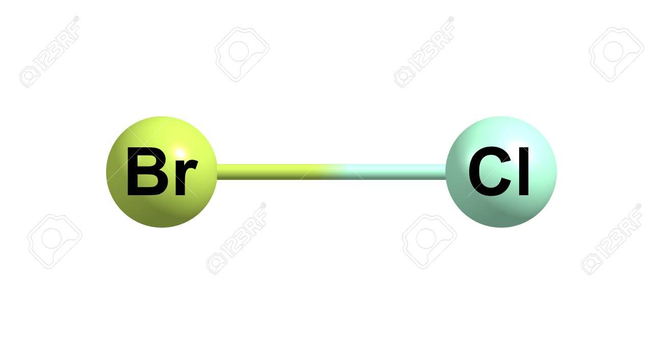 Bromine Monochloride Or Bromochloride Is An Interhalogen Inorganic