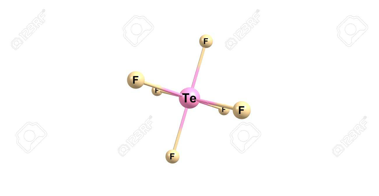 六フッ化テルルはテルルと化学式...