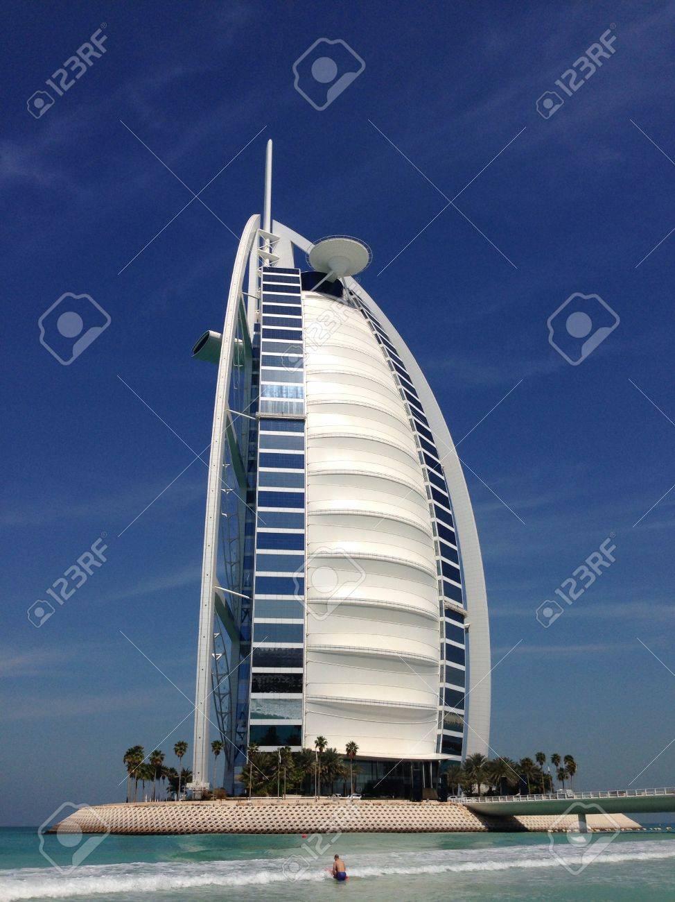 Vista Exclusivo De Los Hoteles Más Lujosos Del Mundo El Burj Al