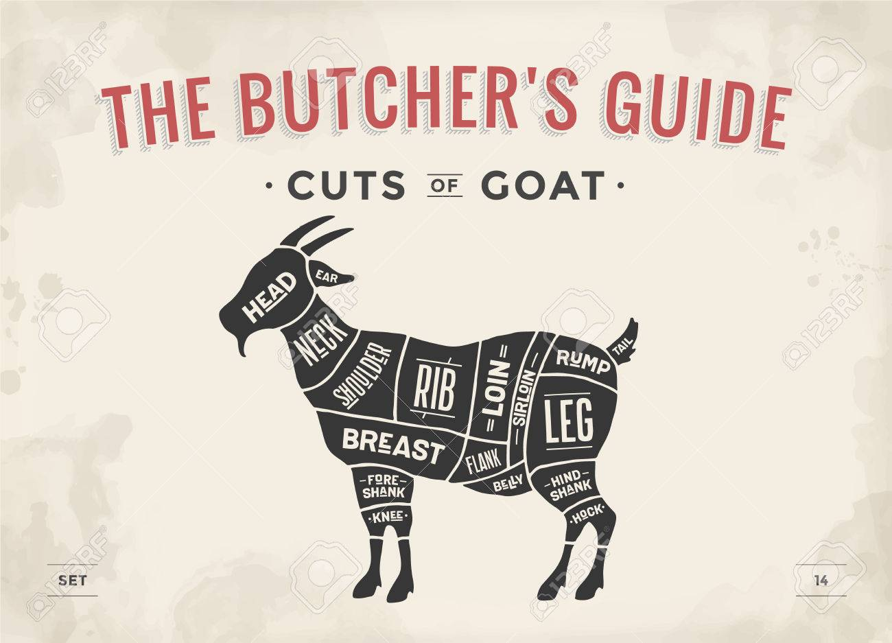 Goat Butcher Diagram - Wiring Diagram For Light Switch •