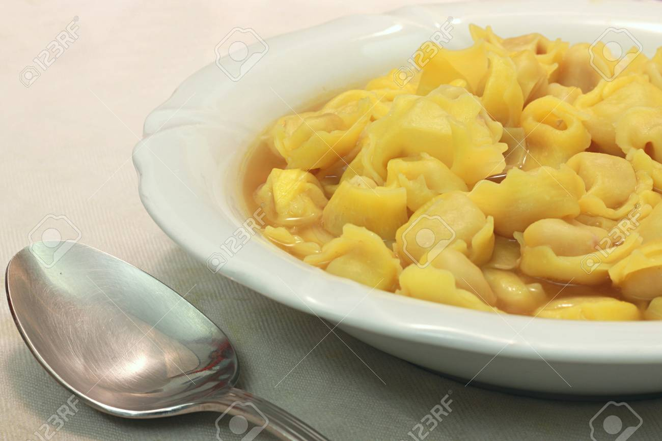 A bounch of Tortellini bolognesi from Italy Stock Photo - 17271514