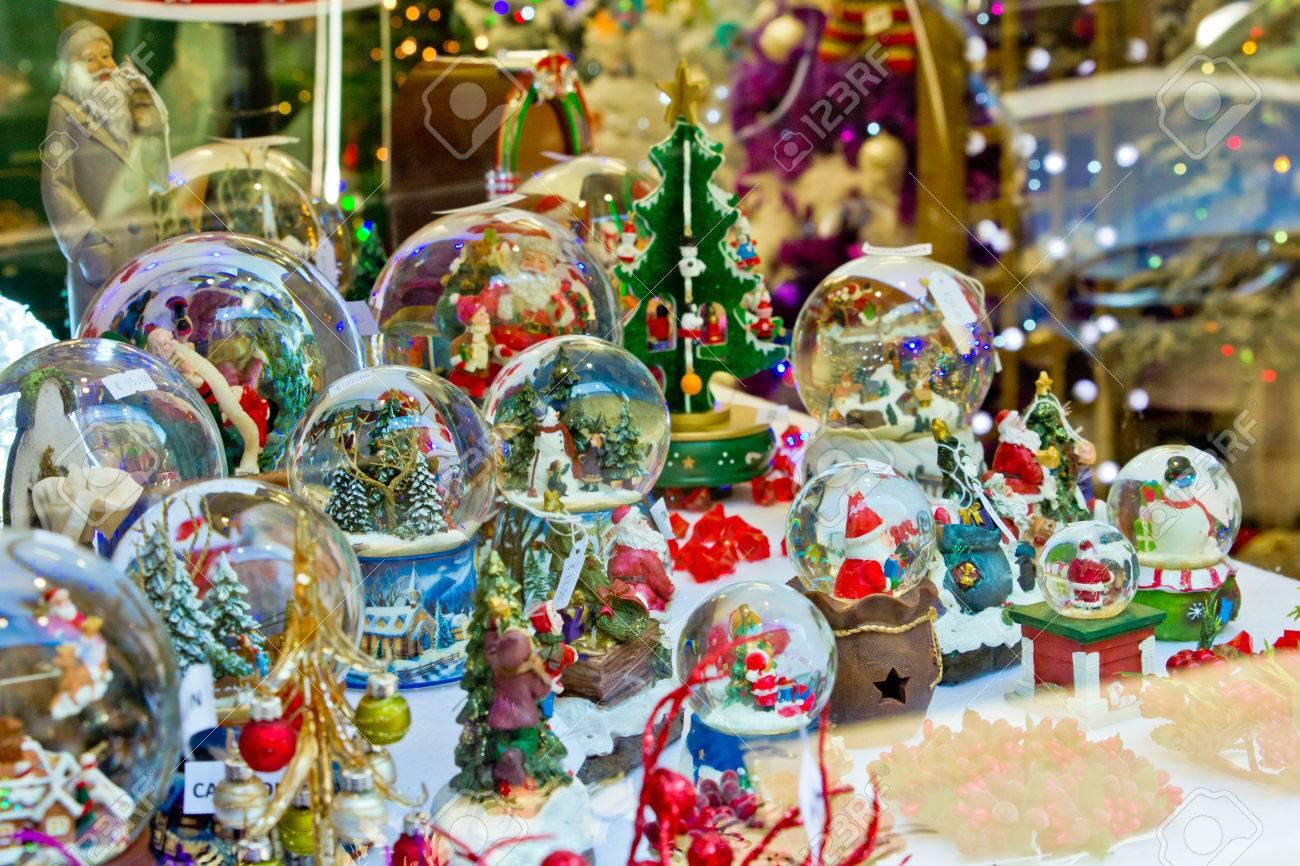 Christmas Stuff.Xmas Shop With Christmas Stuff