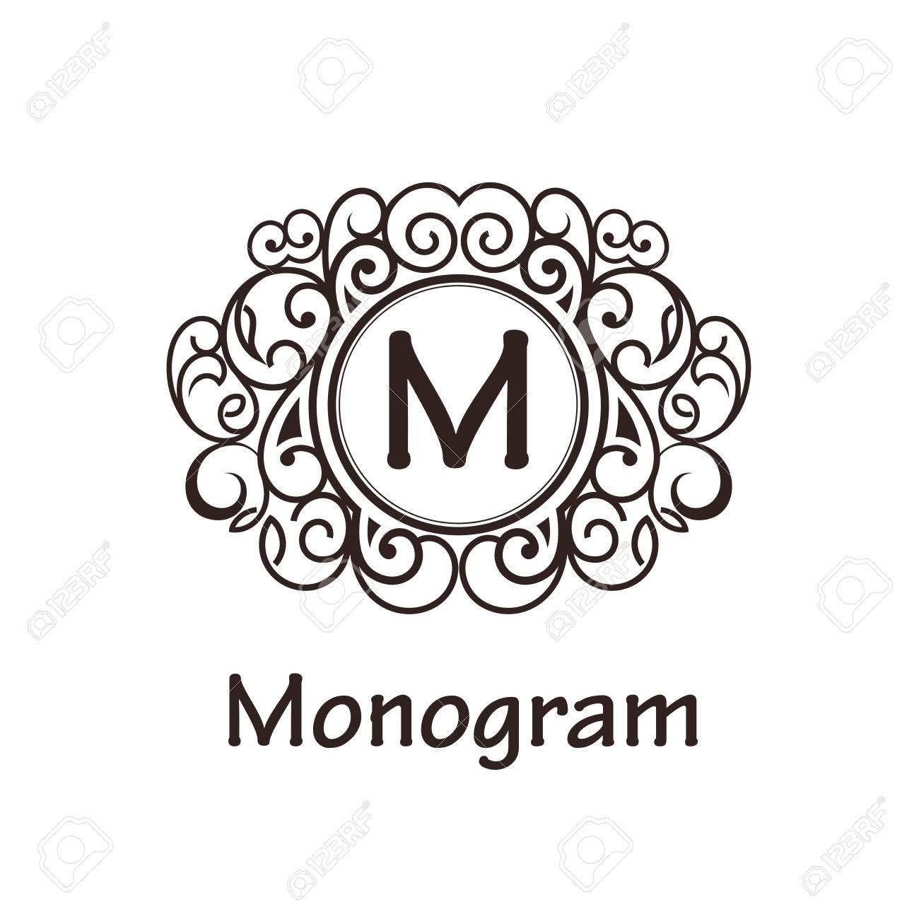 Groß Hochzeits Monogramm Design Vorlagen Bilder - Entry Level Resume ...
