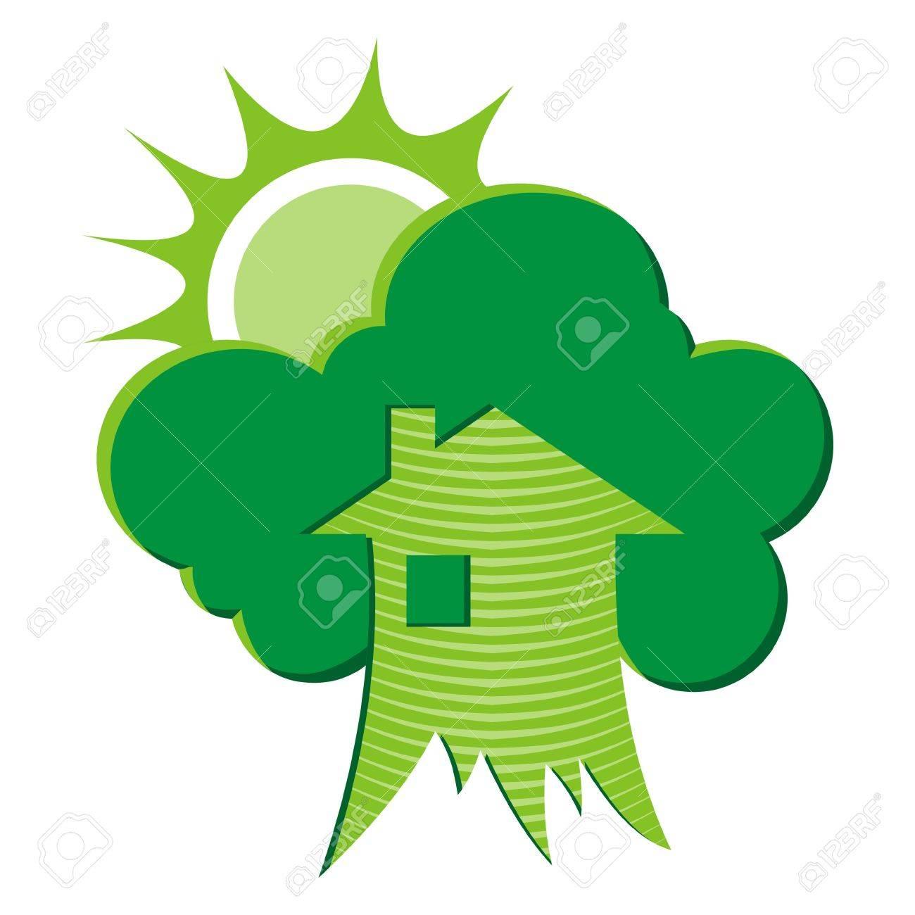 Green house environmental symbol - 2626797