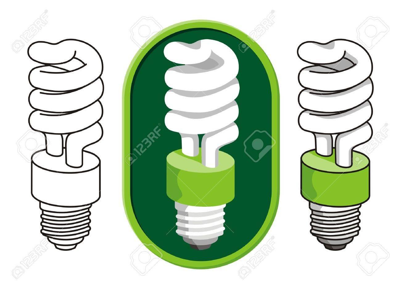 Spiral compact fluorescent light bulb - 3021778