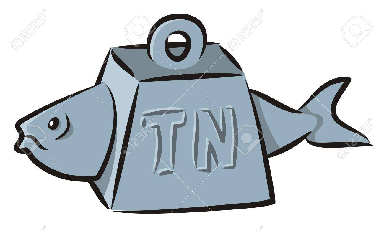 Tuna fish cartoon - 5164153