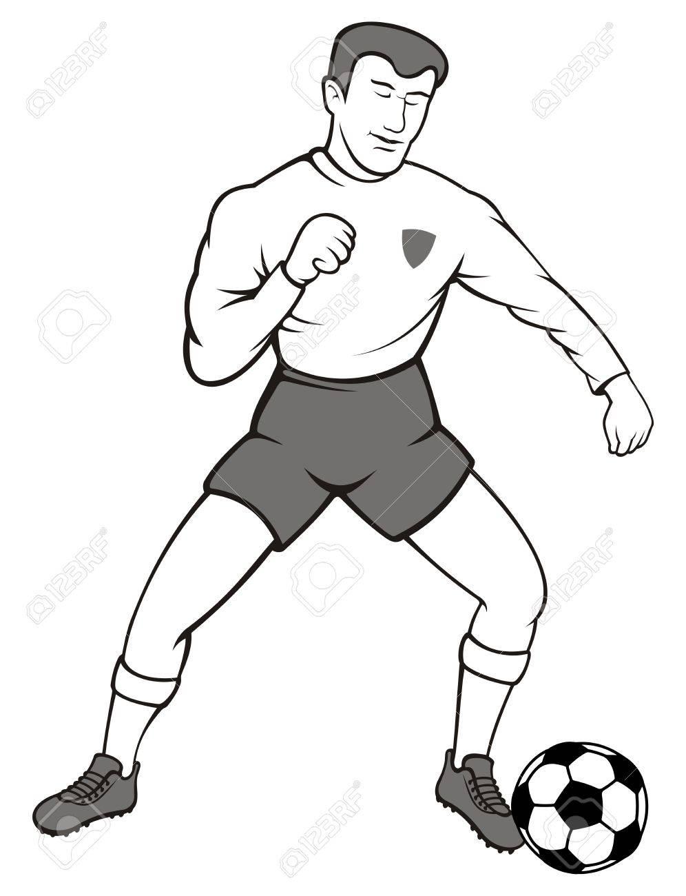 Рисунок спортсменов карандашом 6