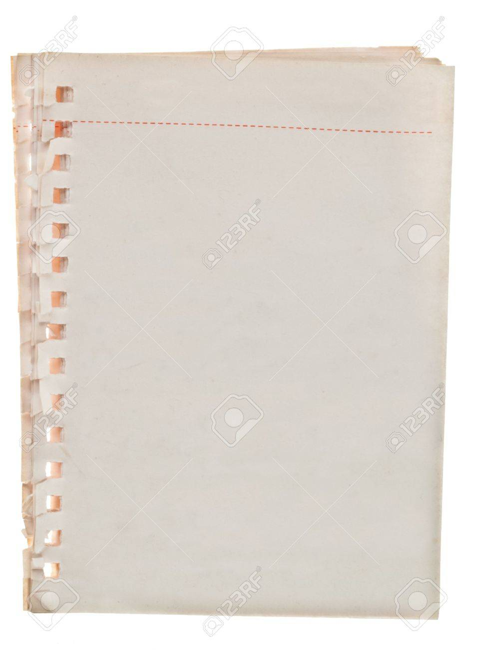 old paper sheet Stock Photo - 9341697