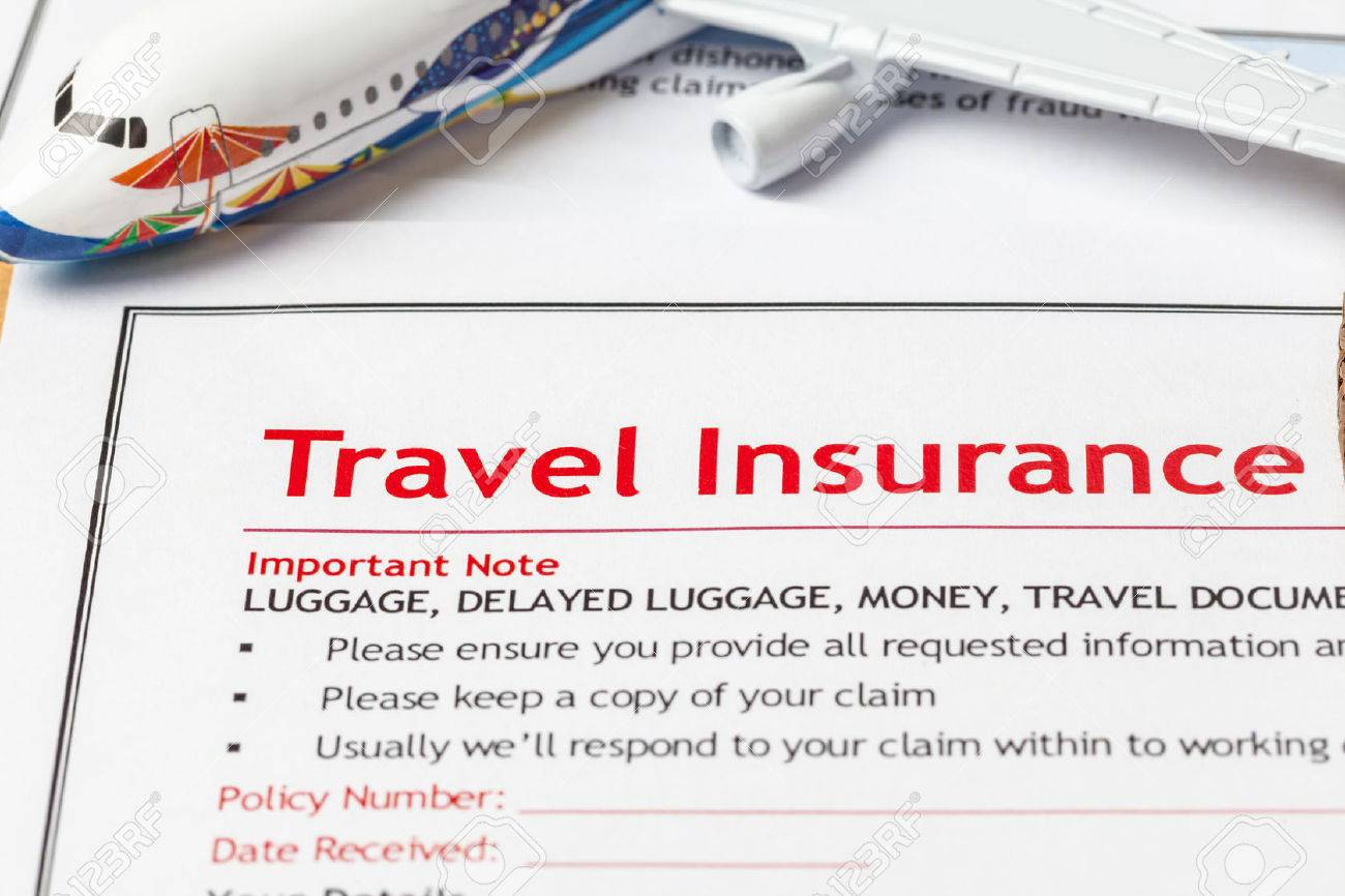 Travel insurance claim application form on brown envelope business stock photo travel insurance claim application form on brown envelope business insurance and risk concept document and plane is mock up thecheapjerseys Choice Image
