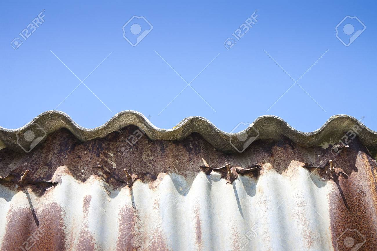 Dangerous asbestos roof - Medical studies have shown that the